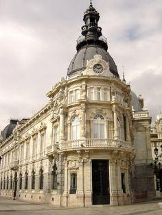 City Hall Cartagena, Murcia, Spain