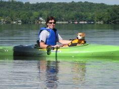 Very good tips on training and preparing for kayaking with dog.