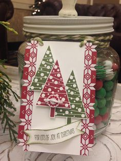 Handmade Christmas Tags, Stampin' Up!, Christmas