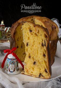 Panettone di Rolando Morandin Italian Desserts, Italian Recipes, Pan Dulce, Home Baking, Christmas Baking, Christmas Recipes, Dried Fruit, Food Photo, Banana Bread