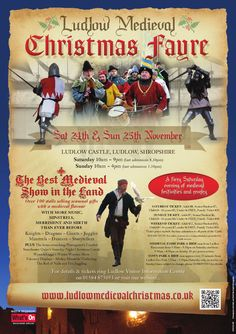Ludlow Medieval Christmas Fayre  24th-25th November 2012