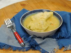 Get this all-star, easy-to-follow Quick-n-Easy Chicken and Dumplings recipe from Katie Lee from The Kitchen, Food Network.  Bisquick