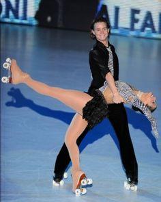 Pairs Artistic Roller Skating! Please like http://www.facebook.com/RagDollMagazine and follow @RagDollMagBlog @priscillacita