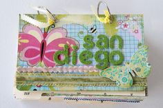 Tuesday Tutorial: Mini Flip Book Vacation Album – The Polka Dot...