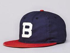 Brooklyn Bushwicks Strapback Cap by EBBETS FIELD FLANNELS