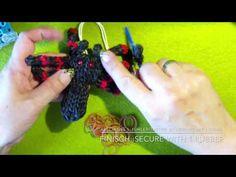 Raibow Loom 3D Spinne / Spider with english subtiles - Lachtäubchen Loom - YouTube