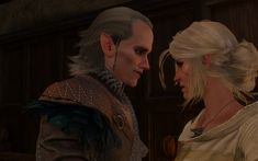 Avallach and ciri Witcher Art, The Witcher 3, Elf Characters, Fictional Characters, Ciri, Wild Hunt, Some Pictures, Lotr, Novels