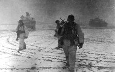 Soldiers from the Wiking Division in the Cherkassy Pocket, early 1944.