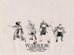 Dragon Age: Origins/ Awakening Warriors
