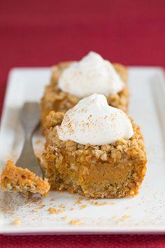Pumpkin Pie Crumb Bars...<3