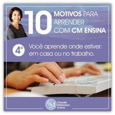 Claudia Matarazzo, em seu Cursos EAD - Você pode aprender de onde quiser - da casa ao escritório. #claudiamatarazzoensina