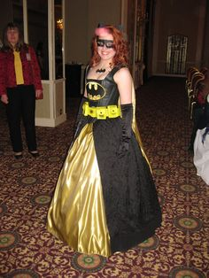 Bat Girl Dress: What I should've worn to prom...this looks like me ahaha