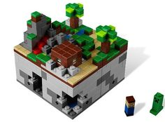 """Lego Minecraft arrives, sudden drop in productivity expected when the UPS man gets here    Minecrafters, commence running through the streets screaming """"It's here!, It's here!"""" as Lego's homage to the world-building game is now available to buy."""