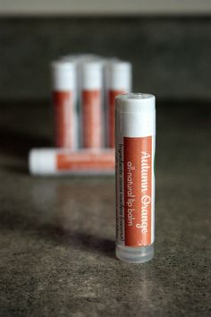 Hey, I found this really awesome Etsy listing at https://www.etsy.com/listing/289521881/autumn-orange-lip-balm-1-tube-natural