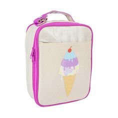 Making lunches is a drag...but luch bags this adorable make it a bit better to tolerate. Search 'Purple icecream lunch' on dtll.com.au or click on the shopable link in our profile. #dtll #downthatlittlelane