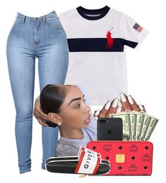 """Polo‼️"" by heavensincere ❤ liked on Polyvore featuring MCM and Givenchy"