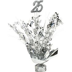 View our Anniversary Silver Centerpiece and other similar products for sale at great affordable prices with the opportunity to get big savings on your purchase. Wedding Anniversary Poems, Silver Anniversary Gifts, 25 Year Anniversary, Anniversary Parties, Anniversary Tattoo, Parents Anniversary, Anniversary Centerpieces, Birthday Centerpieces, Silver Centerpiece