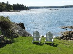 Boothbay Harbor, Maine...oh the first cup of coffee in the morning, right here, right now
