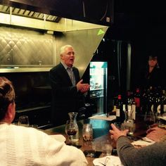 Michael Cregar at Wine School