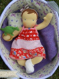 gorgeous waldorf baby doll