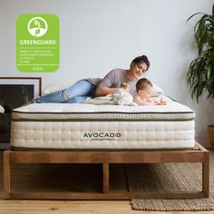 Be safe & healthy on a luxury organic mattress handmade in USA with natural & organic materials. Non-toxic, eco-friendly, 100 night trial, 25 year warranty.