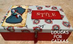 caixa de costura com carimbos loucas por caixas - Loucas por caixas - Terra Fotolog