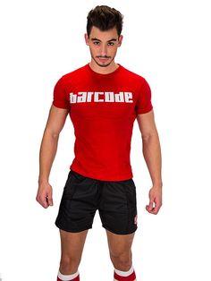 Barcode Berlin, T-Shirt Fan, rot, 91323/300, sexy, brandneu
