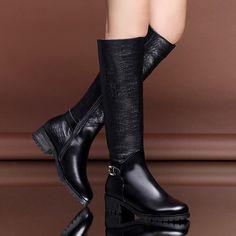 Retro Thick Heel Knee High Women Boots $220  ᴏʀᴅᴇʀ ɴᴏᴡ: ᴊᴜsᴛᴇʙᴏᴜᴛɪǫᴜᴇ@ɢᴍᴀɪʟ.ᴄᴏᴍ  #boutique #picoftheday #fashion #dress #istafashion #clothing #want #weheartit #online #newyork #bestofthebest #topquality #follow #heels #goodisgood #iwantone #forsale #unique #greatbuy #style #look #loveit #beauty #new #product #forsale #womensfashion #happybuyers #buyme #allmymoneygoestofashion
