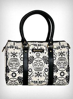 Sugar Skulls and Flowers Bag $59.00