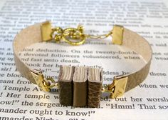 book bracelet! Great gift for that woman in your life/friend who adores reading.