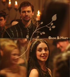 Mary (Adelaide Kane) & Bash (Torrance Coombs)… REIGN