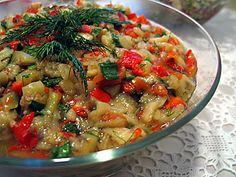En lezzetli ve kolay Patlıcan Salatası Tarifi - Yemektarifleri8