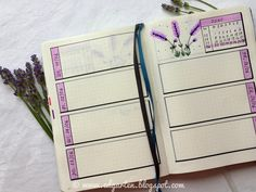 Edgarten - Gartenblog: 📘  Bullet Journal - Juni mit Lavendel - Tag 78 Bullet Journel, Journal, Juni, Homeschooling, Small Notebook, Day Planner Organization, Lavender, Holiday, Journal Entries