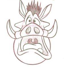 Pumbaa by DrSchmitty