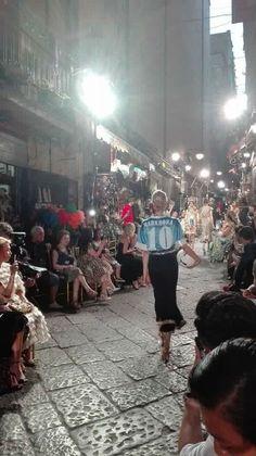 Quartieri Spagnoli. Dolce e Gabbana in Naples