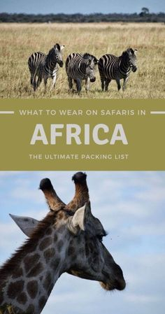 Picking what to wear during a safari is easier said than done. Read this post for a detailed Africa packing list. Guaranteed to take the stress of packing away! | Africa | safari outfit | #africa #travelblog via @clautavani