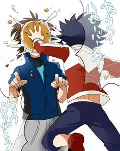 kyouhei, hugh, and pie image
