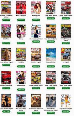Muestras Gratis PR: ¿Cómo puedo subscribirme a revistas, gratis?