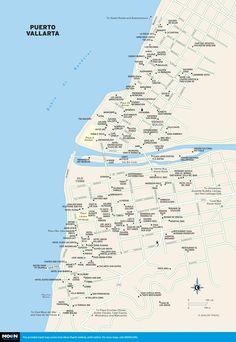 printable travel maps of puerto vallarta