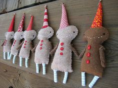 run, run, as fast as you can, you can't catch us, we're the gingerbread clan by cathygaubert on Flickr.