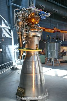 Ariane rocket engine. Rockets are beautiful too.