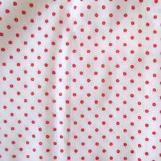 D0004 - poá vermelho, fundo branco.