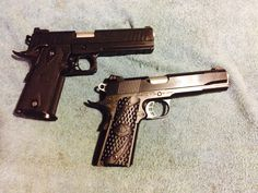 STI 9 mm.   One 1911 and the other 2011