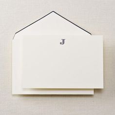 Jasmine L., Associate Brand Manager for Shiseido, has personalized stationary on her wish list! Simple, classic and elegant expresses Jasmine's style.