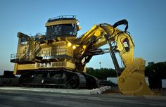 Caterpillar 6120B H FS Hydraulic Shovel.Largest front shovel ever built.This is a also a HYBRID Shovel to