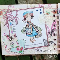 Marianne Design Clear Stamp - Snoesjes Shop Till You Drop - Crafted by Kim