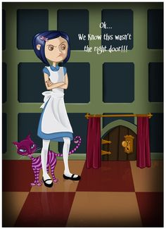 Coraline in Wonderland by CoralineFC