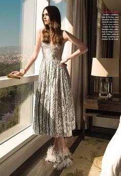 Maria Palm by Alexander Neumann for #Vogue Mexico