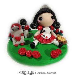 deviantART: More Like FIMO: dolls superdeformed blythe style by ~MilkyWayHandmade