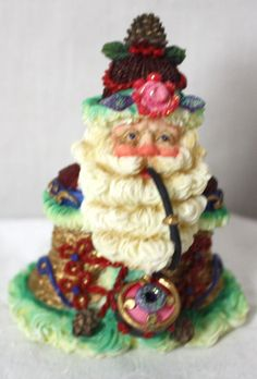 Crinkle Claus Ring-A-Ling Crinkle Membership Figurine 905002 Original Box